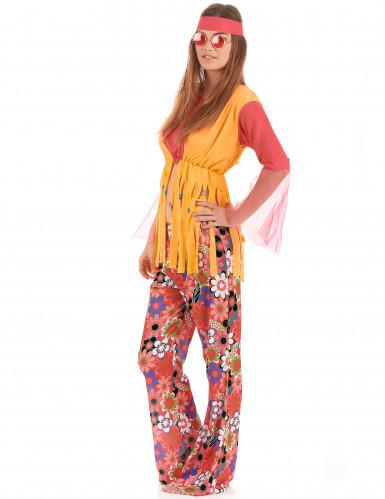 Disfraz de hippie para mujer-1