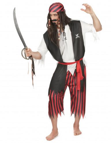 Disfraz de pirata para hombre clásico-1