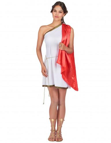 Disfraz de diosa romana para mujer