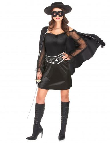 Disfraz de justiciera para mujer