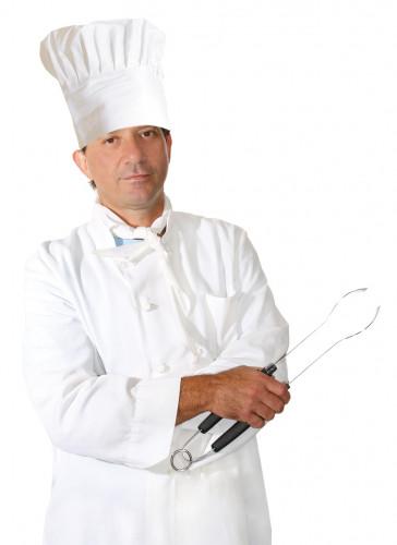 Gorro de cocinero para adulto