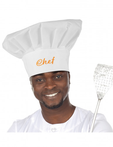Gorro de chef para adulto