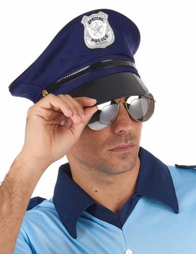 Gorra de policía para adulto-1