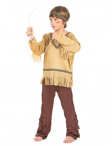 Disfraz indio niño clásico-1