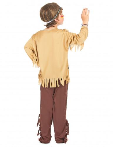 Disfraz indio niño clásico-2