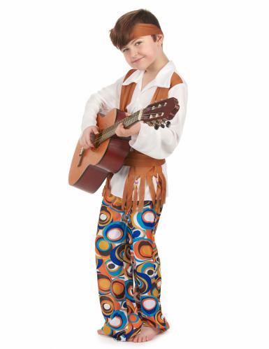 Disfraz de hippie para niño-1