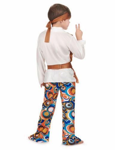 Disfraz de hippie para niño-2