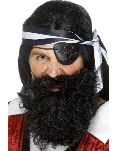 Barba de pirata para adulto