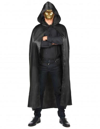 Capa de Vampirella negra para mujer ideal para Halloween-3
