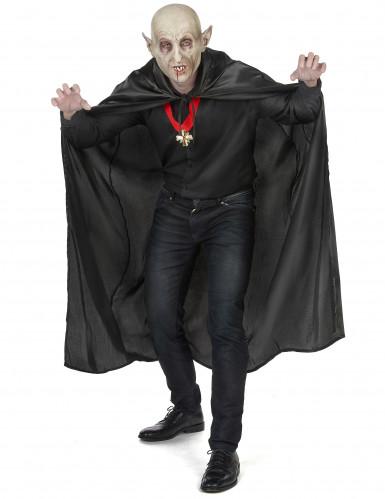 Capa de Vampirella negra para mujer ideal para Halloween-4