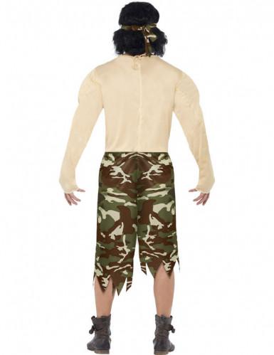 Disfraz de supersoldado muscoloso para hombre-2