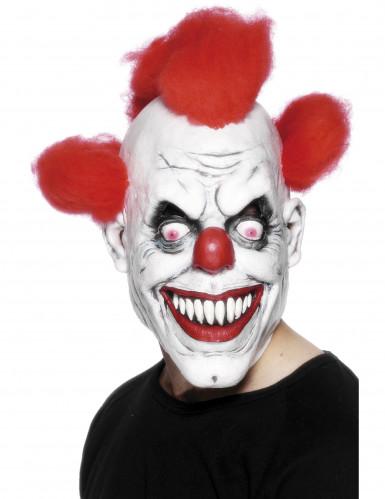 Máscara terrorífica de payaso para adulto ideal para Halloween