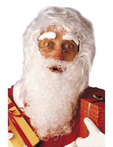 Kit de barba peluca y cejas de Papá Noel