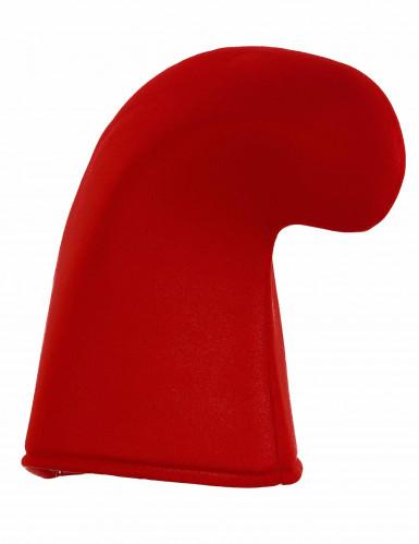 Gorro rojo de duende para adulto