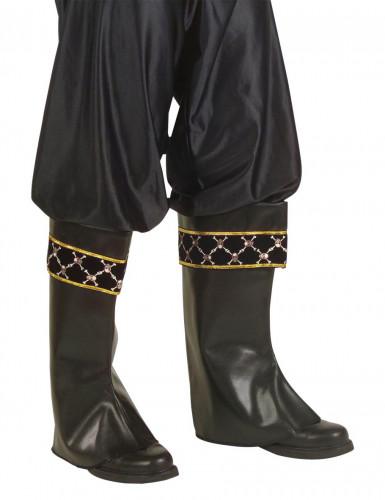 Cubre botas de pirata para adulto