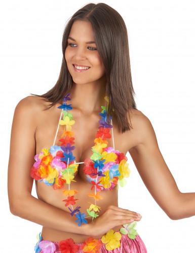 Collar hawaiano de bienvenida-1