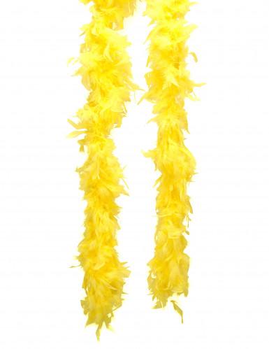Boa amarilla para adulto