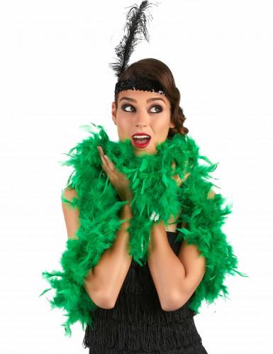 Boa verde para adulto ideal para fiestas y Saint Patrick-1