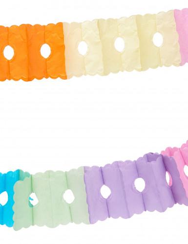 Guirnalda multicolor de papel 6 metros-1