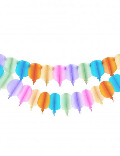 Guirnalda de globos de papel
