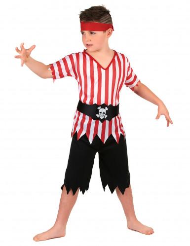 Disfraz de grumete pirata para niño-1