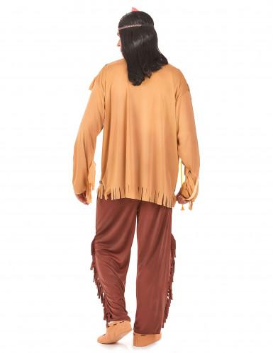 Disfraz de indio pálido para hombre-2