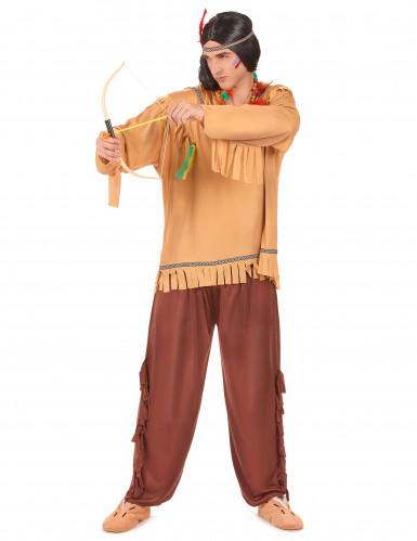 Disfraz de indio pálido para hombre-1