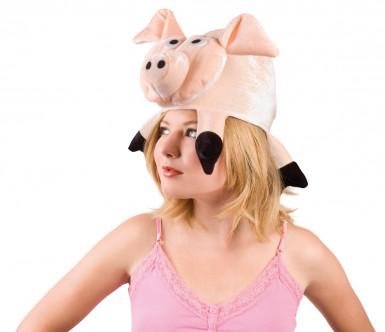 Sombrero de cerdo para adulto