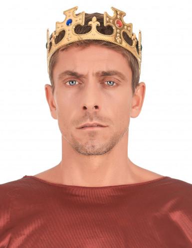Corona dorada para hombre-2