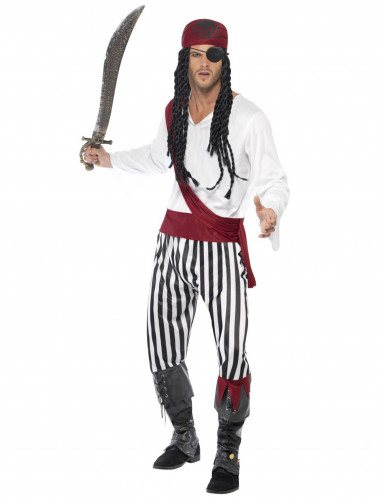 Disfraz del pirata perfecto para hombre