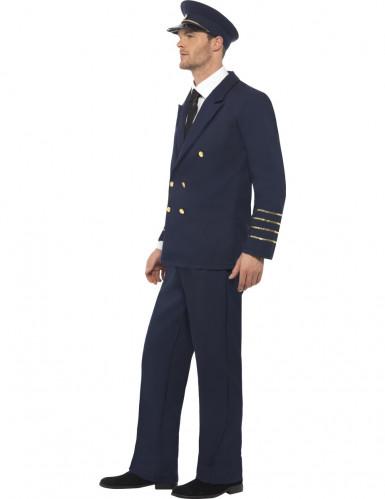 Disfraz de piloto de línea para hombre-2