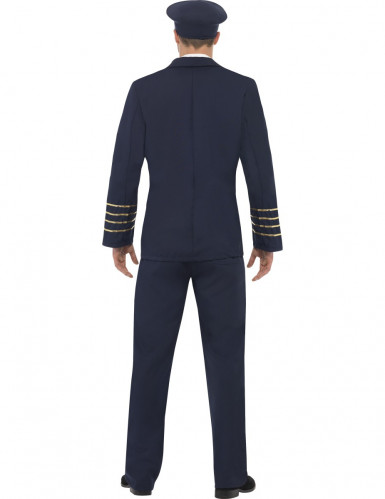 Disfraz de piloto de línea para hombre-1