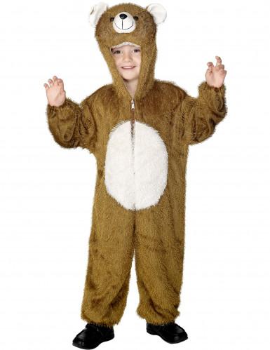 Disfraz de oso pardo para niño