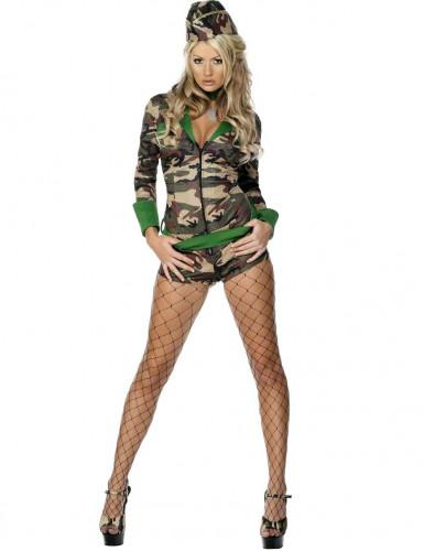 Disfraz de militar sexy para mujer