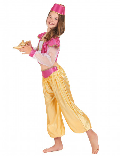 Disfraz de princesa oriental de lujo para niña-1