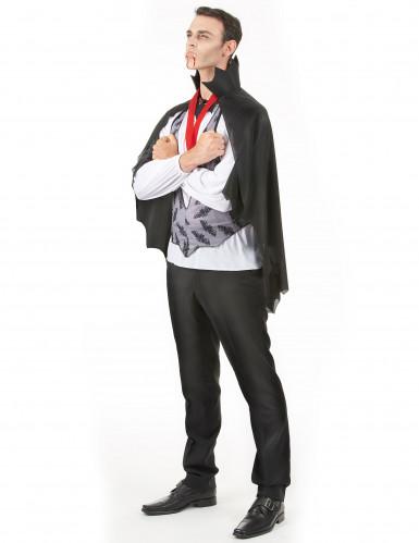 Disfraz de vampiro ideal para Halloween-1