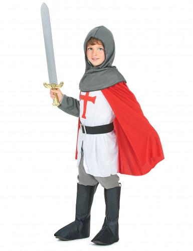 Disfraz de caballero cruzado para niño-1