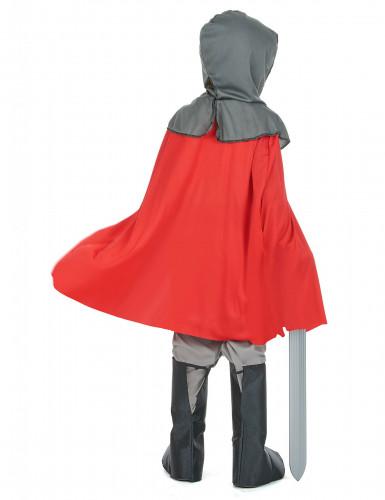 Disfraz de caballero cruzado para niño-2