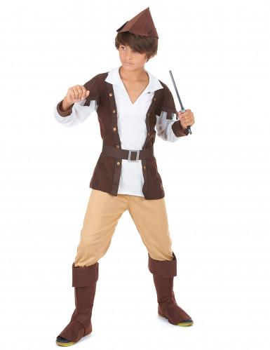 Disfraz de Robin Hood para niño marrón-1