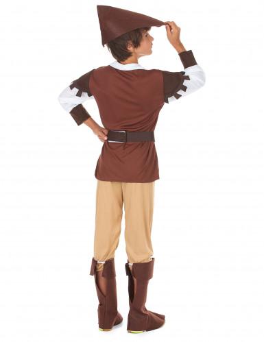 Disfraz de Robin Hood para niño marrón-2