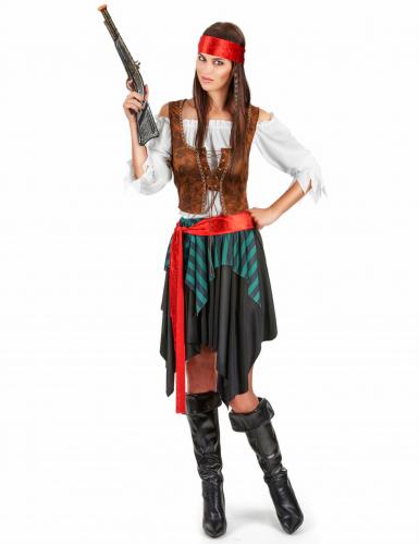 Disfraz de mujer pirata
