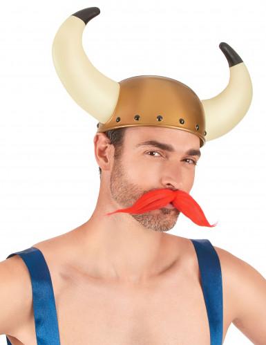Casco de vikingo cuernos grandes adulto-1