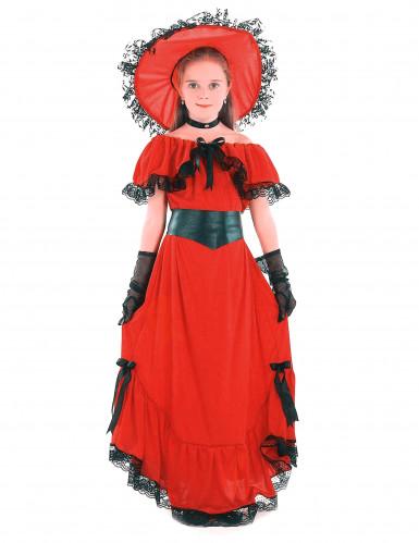 Disfraz de dama para niña
