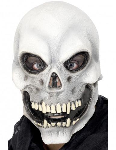 Máscara de esqueleto para adulto ideal para Halloween