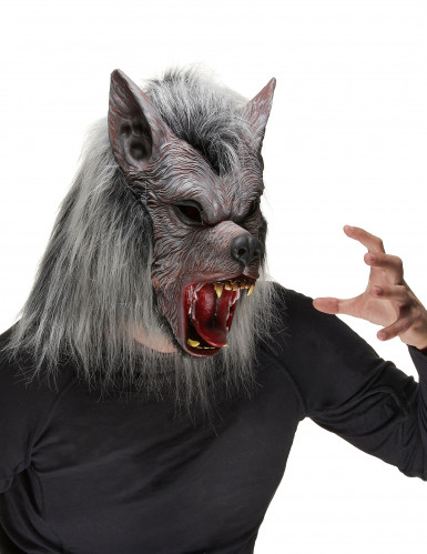 Máscara de hombre lobo para adulto ideal para Halloween