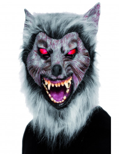 Máscara de hombre lobo para adulto ideal Halloween