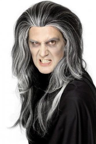 Peluca de vampiro para hombre ideal para Halloween