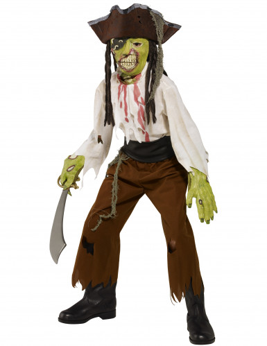 Disfraz de monstruo pirata para niño ideal para Halloween