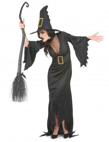 Disfraz de bruja para mujer ideal para Halloween-1