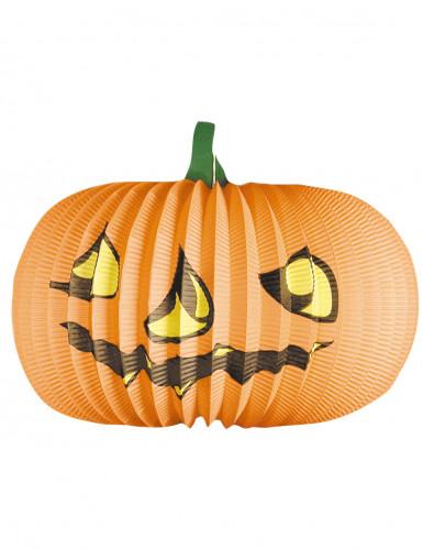 Farolillo en forma de calabaza ideal para Halloween